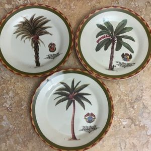 EUC Decorative I. Godinger & Co Plates Set of 3